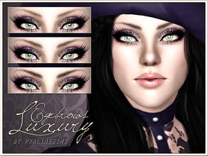 Sims 3 — Luxury Eyebrows by Pralinesims — New realistic eyebrows for your sims! Your sims will love their new look ;) -