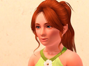 Sims 3 — Nathalia Ruven - Child by Lily-chan2 — Here is Nathalia Ruven. She is an orphan child who is looking for a new
