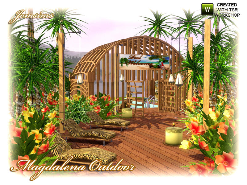 Jomsims Magdalena Outdoor Elements And Plants