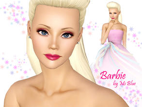 Sims 3 — Barbie by Ms_Blue — Most girls probably know Barbie from their childhood, i know i do. Know you can have her in