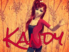Sims 2 — ☮ Kandy ☮ by AraSims2 — My first child upload ^ . ^ Enjoy. ♥