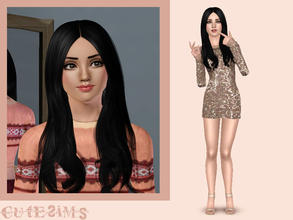 Sims 3 — Regan Conrad by Cute-Sims2 — Regan Conrad is a cute young-adult sim who loves to be outdoors. She's very