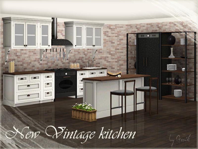 Gosik S New Vintage Kitchen Part 1