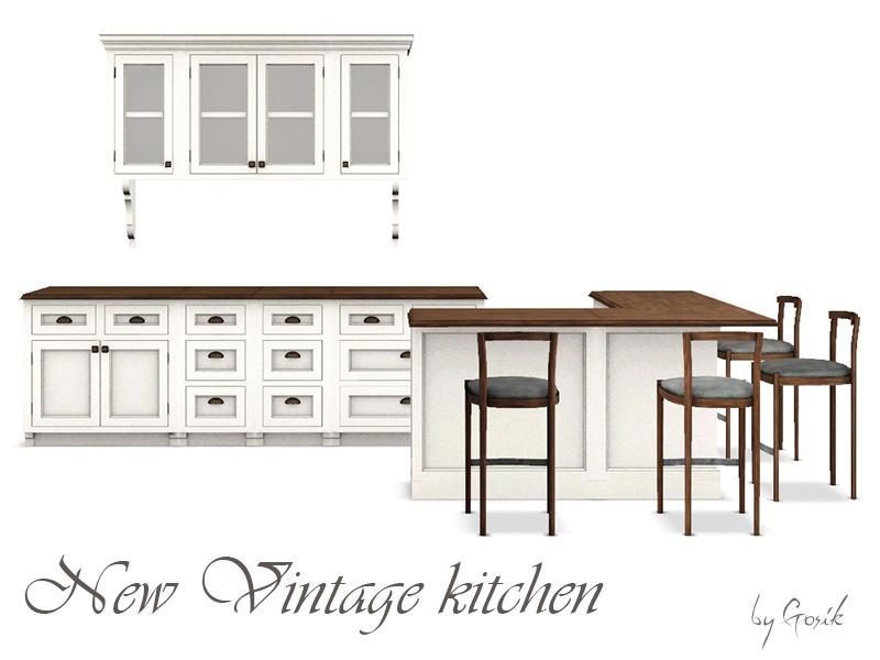 Gosik 39 S New Vintage Kitchen Part 1