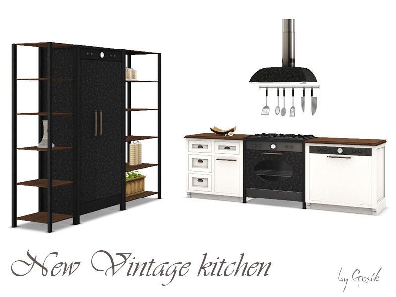 Gosik S New Vintage Kitchen Part 2