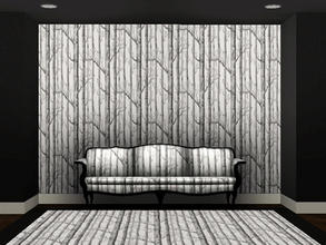 Sims 3 — Birch trees by sambot2172 — simified Woods wallpaper by Cole & Son. 2 channel castable. Find under