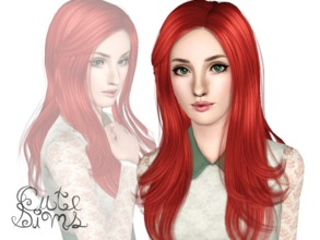 Sims 3 — Dionne Steele by Cute-Sims2 — Dionne Steele is a cute red-haired (Young Adult) Sim. I have installed: World
