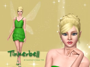Sims 3 — Tinkerbell by fantasticSims TSR by fantasticSims — Tinkerbell is the classic Fairy straight from Pixie Hollow.