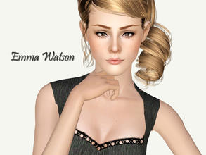 Sims 3 — Emma Watson by Ms_Blue — Emma Charlotte Duerre Watson (born 15 April 1990) is an English actress and model. She