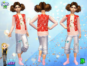 Sims 2 — ASA_Daily suit for the girl by Gribko_Sveta — Daily suit for the girl