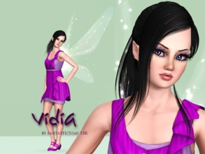 Sims 3 — Vidia Fairy by fantasticSims TSR by fantasticSims — Vidia is the Fairy straight from Pixie Hollow. She is