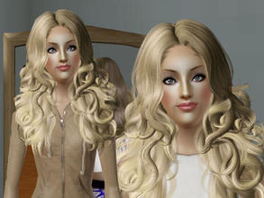 Sims 3 — Kate Taylor by Bebana2 — She wants to be super popular. Help her. :) Traits: Family orijented, flirty, neat,