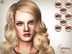 Sims 3 — Entrancing Eyes by zodapop — Realistic, captivating eyes for your sims. ~ 3 recolorable channels ~ 8 premade