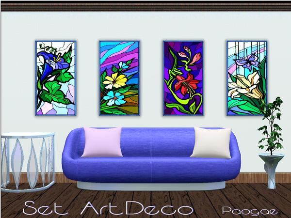 Set ArtDeco by Paogae