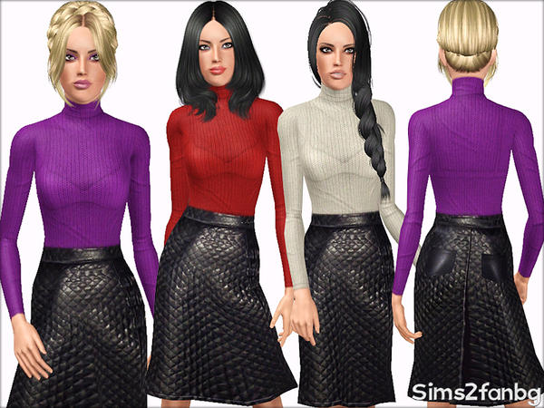 378 - Fall set by sims2fanbg