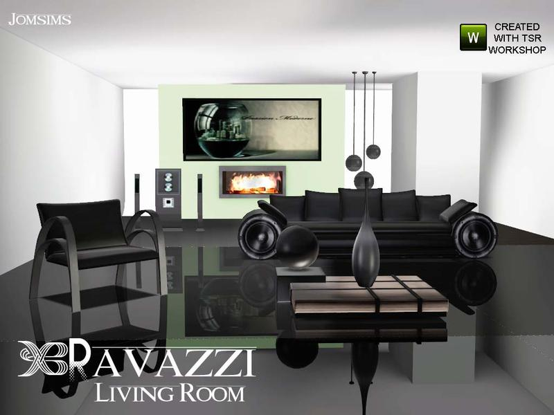 sims 2 living room set many options