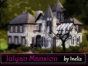 Sims 3 — Julyan Mansion by Ineliz — People in the neighborhood say that Mrs. Julyan was a weird woman, who liked to stay