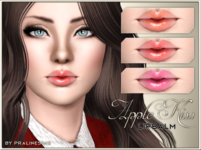 Sims 3 — Apple Kiss Lipbalm by Pralinesims — New realistic lipstick for your sims! Your sims will love their new look ;)