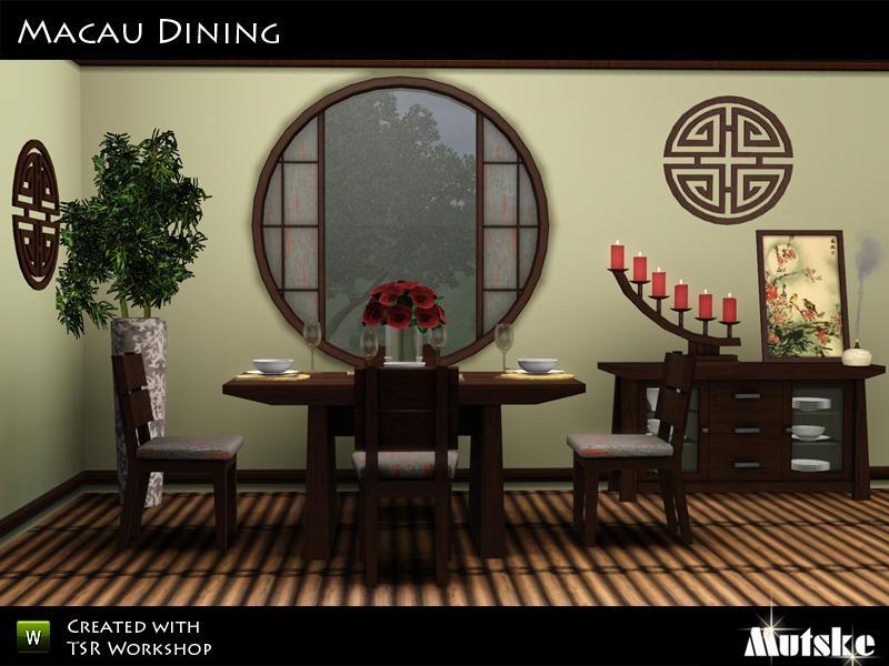 Mutske 39 s macau dining for Asiatische sofas