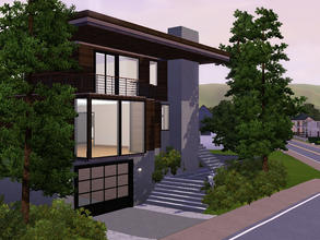 Sims 3 — Colorado Mountain Lodge by sambot2172 — A modern lodge for your sims. A three bedroom, 4 bathroom home with