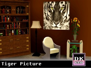 Sims 3 — Tiger Picture by DK_LTD — Stunning picture of a tiger.