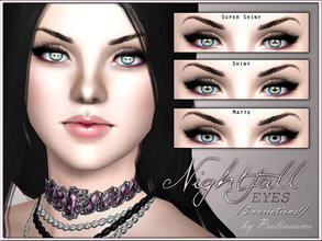 Sims 3 — Nightfall Eyes by Pralinesims — New realistic eyes for your sims! Your sims will love their new look ;) - 3