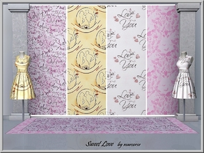 Sims 3 — Sweet Love_marcorse by marcorse — Four themed patterns focussed on St. Valentine's Day.