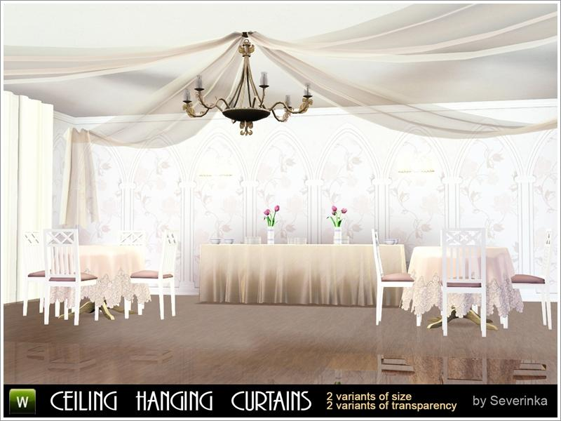 Severinka S Eiling Canopy Curtains