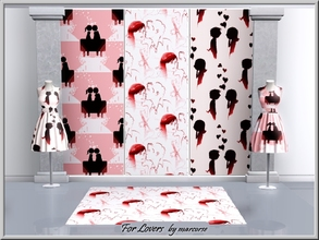 Sims 3 — For Lovers_marcorse by marcorse — Three Valentine's Day patterns for lovers. Happy Valentines is found under