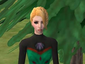 Sims 2 — Elsa (Coronation Dress) by sims3modder92 — Elsa from the movie Frozen.