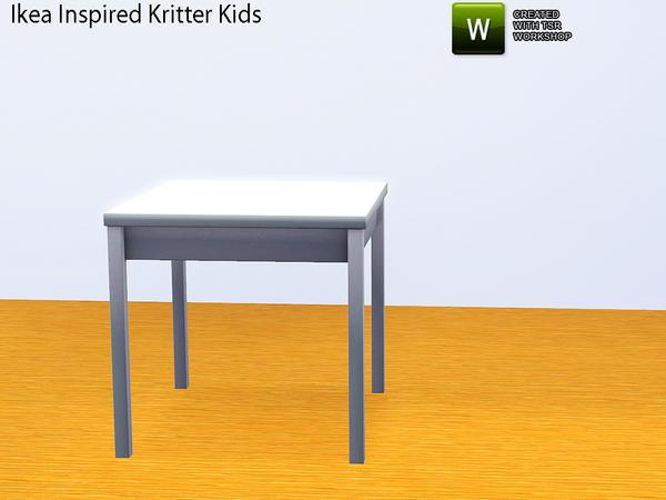 thenumberswoman 39 s ikea inspired ikea kritter kids room table. Black Bedroom Furniture Sets. Home Design Ideas