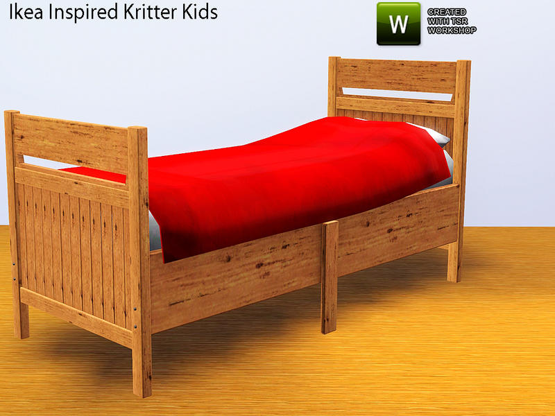 thenumberswoman 39 s ikea inspired ikea kritter kids room bed. Black Bedroom Furniture Sets. Home Design Ideas