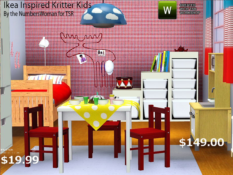 Sims 3 Kid Room Decor ~ inspiring children\'s room and study table