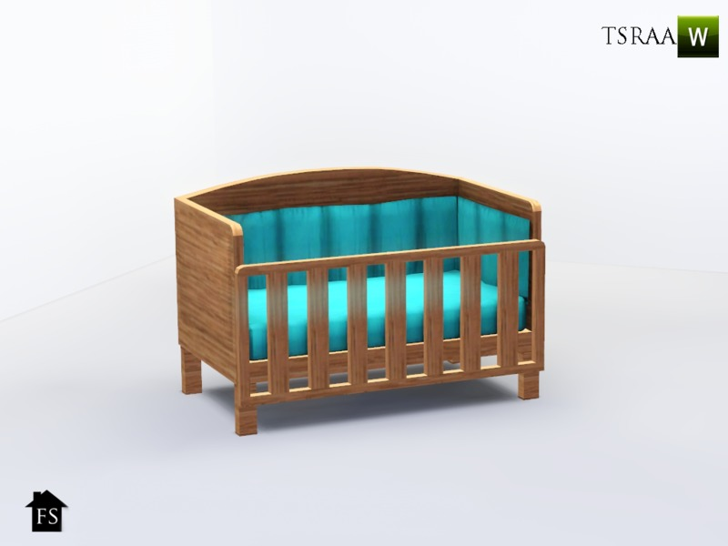 FantasticSims FS Sweetheart Nursery Crib
