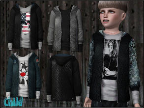 Sims 3 — ChildFashionSet1_Jacket by Shojoangel — Hi...fashionable and trendy set for your little kids...set included