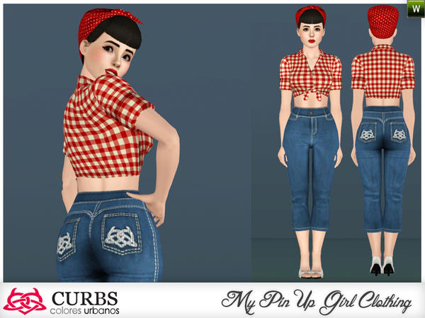 edit  also lace wrist gloves. Mod The Sims   WCIF this hair and other rockabilly stuff