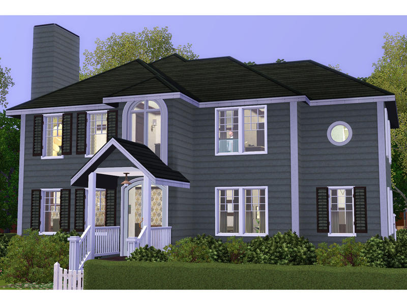 Degera 39 s hailey for Sims 3 family home ideas