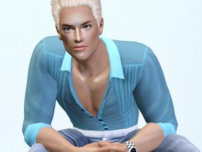 Sims 3 — Andrej Stoun by Bebana2 — He wants to become superpopular. :) TRAITS: Atletic, brave, charismatich, friendly,