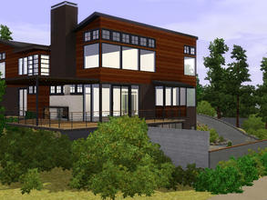 Sims 3 — Westlight House by McLellan Architects by sambot2172 — A four bedroom, 4 bathroom house for your sims on a large