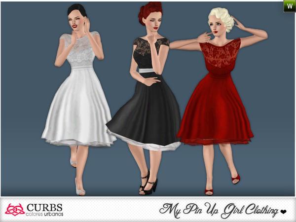 busco vestido de novia - pide una descarga para los sims 3