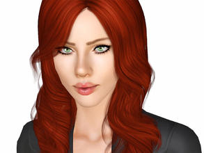 Sims 3 — Scarlett Johansson as Black Widow by Ms_Blue — Scarlett Johansson in the role as Natasha Romanoff aka Black