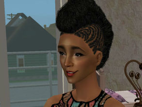 Sims 2 — Inez Fernada by renegaderunway — A small-town girl with big city dreams.