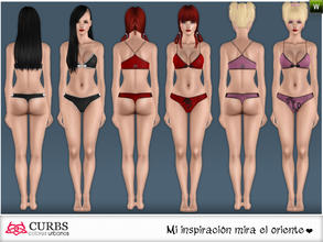 Sims 3 — curbs Sleepwear 02 by Colores_Urbanos — Sleepwear in 3 recolores, 2 recolorable area. valid for maternity!!!