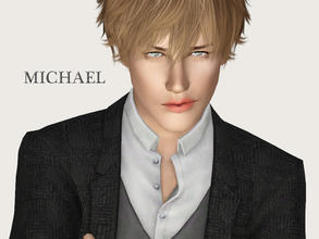 Sims 3 — Michael Blue by Ms_Blue — Michael is a model at Creations by Ms Blue and appeared in SF magazine issue 23.