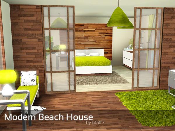 Tifaff7 39 s modern beach house for Beach house designs for sims 3