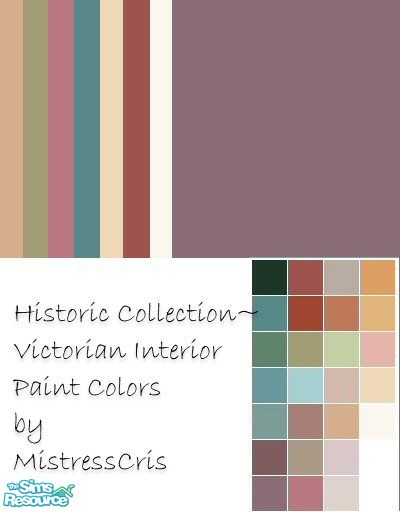 Historic Collection - Victorian Interior Paint Colors