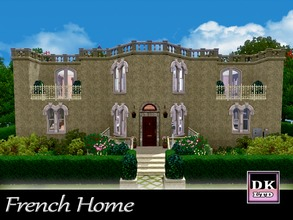 Sims 3 — French Home by DK_LTD — This beautiful french home is a mixture of traditional and modern, it has 2 double