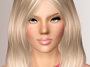 Sims 3 — Estina by Margeh-75 — Estina who just loves the colour pink and vintage clothes or objects. She runs an Antique