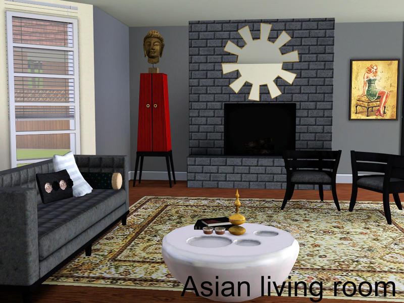 spacesims\' Asian living room