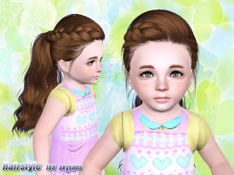 Skysims Hair Toddler 188